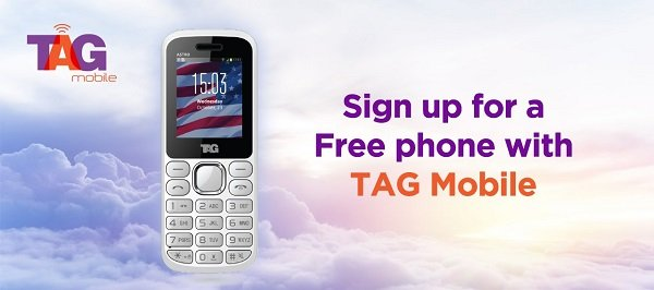 TAG Mobile SNAP Free Phone
