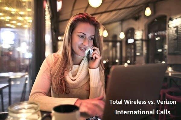 Total Wireless vs. Verizon International Calls