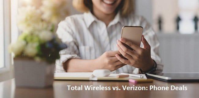 Total Wireless vs. Verizon Phone Deals