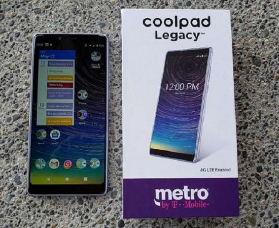 Coolpad Legacy Metro PCS Free Phones With Activation