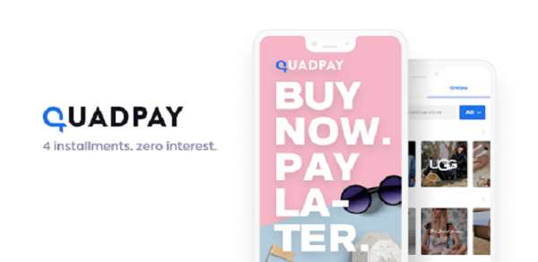 Quadpay - buy now pay later apps no credit check