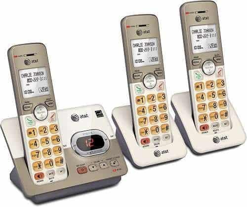 AT&T EL52313 3-Handset Expandable Cordless Phone
