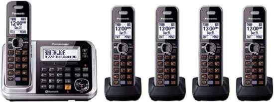Panasonic Bluetooth Cordless Phone KX-TG7875S