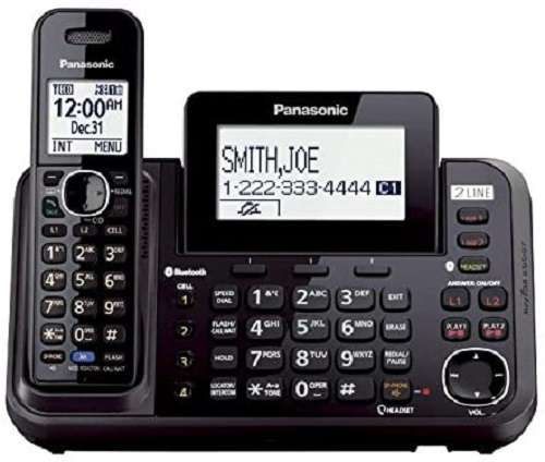 Panasonic - KX-TG9541B Cordless Handset Phone