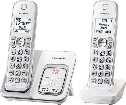 Panasonic KX-TGD532W Landline Phone