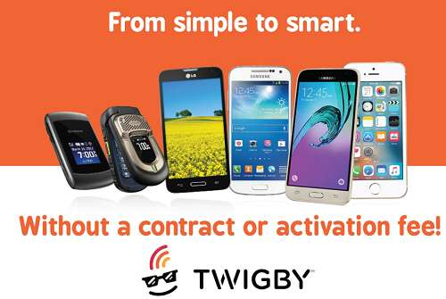 Twigby smartphone plan