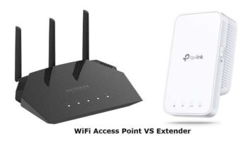 What is the Difference WiFi Access Point VS Extender