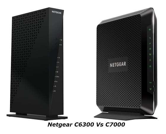 Netgear C6300 Vs C7000