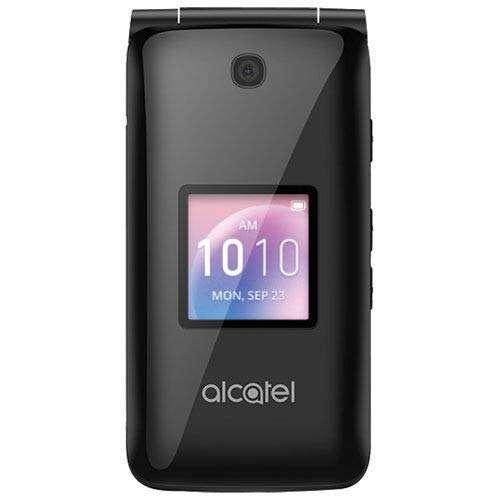 AT&T Alcatel GO Flip Phone For Seniors