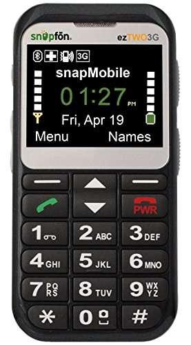 AT&T Snapfon ezTWO Phone For Seniors