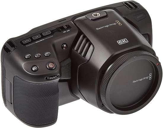 Blackmagic design pocket cinema camera for interviews
