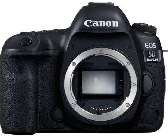 Canon EOS 5D Mark IV camera for interviews