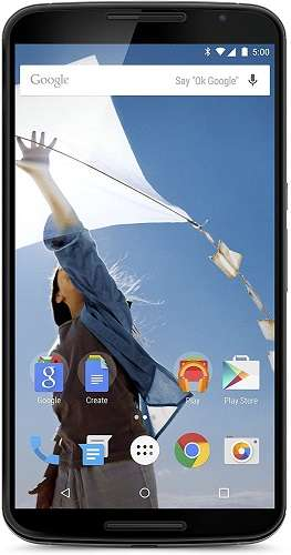 Motorola Nexus 6 Unlocked - Compatible With Qlink Wireless