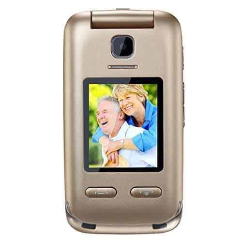 Obooy EG520 AT&T Flip Phone For Seniors