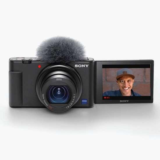 Sony ZV-1 camera for interviews